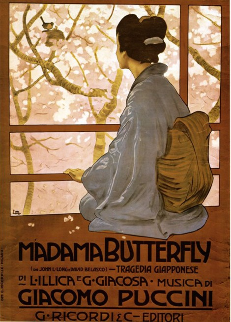 Madama Butterfly 1904 G Ricordi