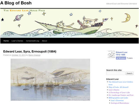 A Blog of Bosh marco Graziosi Homepage