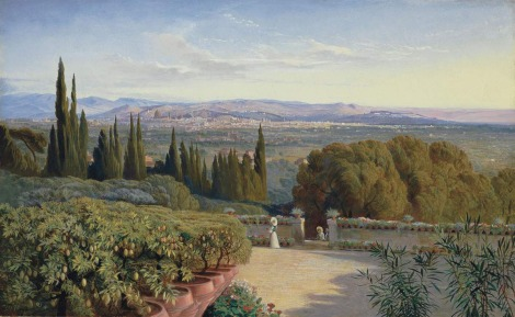 Archivio Iconografico del Verbano Cusio Ossola Edward Lear View of Florence from Villa Petraja 1861