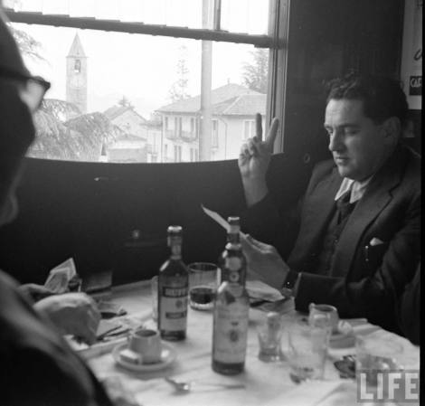 Simplon Sempione treno Orient Express 1950 LIFE Photo Jack Birns1950 Baveno