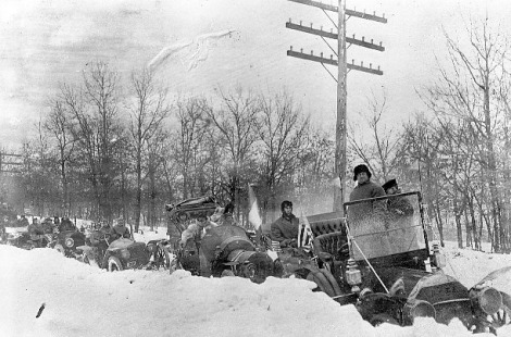 Zust Gara Neve 1908 New York Paris Gara
